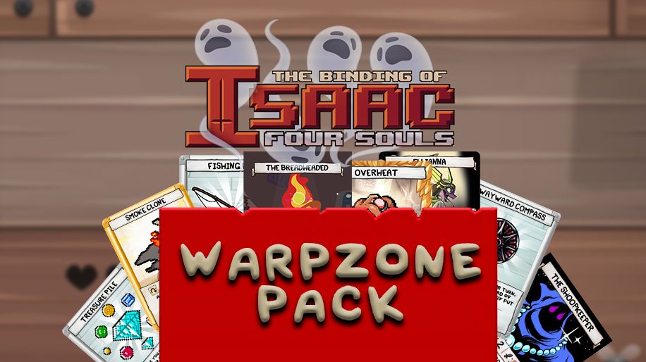 Warpzone Pack: The Binding of Isaac – Mod