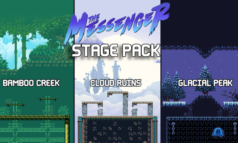 The Messenger Stage Pack: Rivals of Aether – Mod